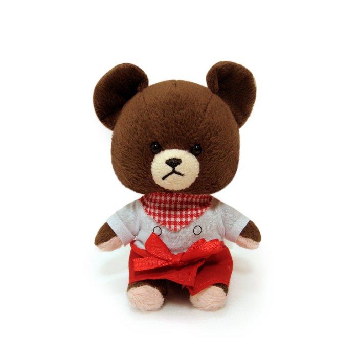 【禾宜精品】小熊學校 10 cm 傑琪 (廚師) 吊飾 玩偶 療癒商品 生活百貨 B102032-J