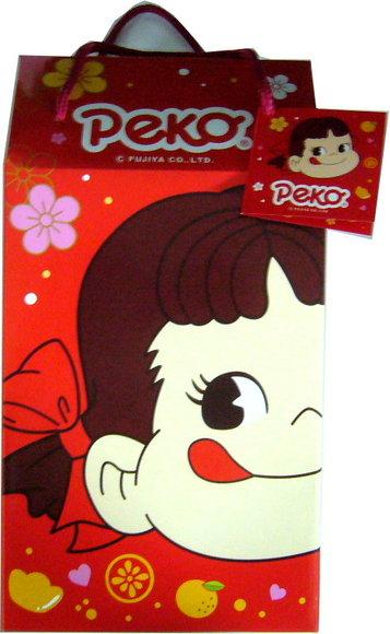 有樂町進口食品 日本進口 年節禮盒 不二家綜合牛奶糖提籃禮盒 4902555118673
