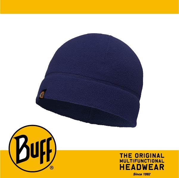 BUFF 西班牙魔術頭巾 POLAR保暖系列 保暖帽 [素面深藍] BF110929-787-10