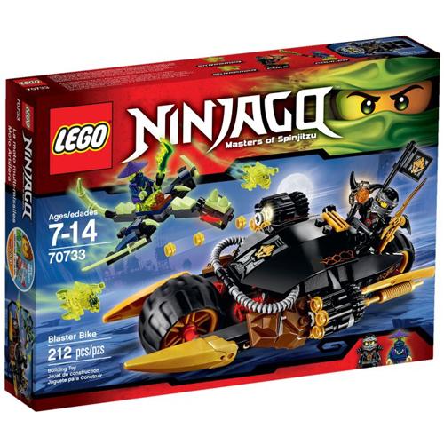 樂高積木LEGO《 LT70733 》2015 年 NINJAGO 旋風忍者系列 - 爆炎單車