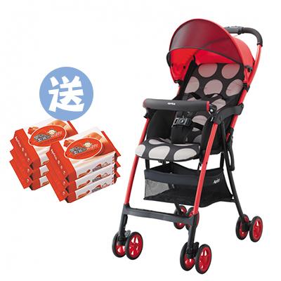 【悅兒樂婦幼用品舘】Aprica愛普力卡 Magical air S 超輕量單向嬰幼兒手推車-小太陽【送濕巾20抽x2】