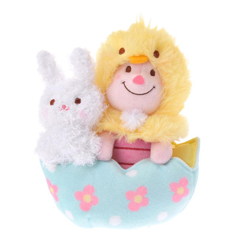 【真愛日本】16032500019DN復活節娃組-小豬彩蛋   迪士尼 維尼家族 POOH  娃娃 復活節 限定