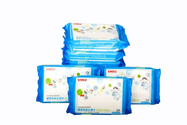 『121婦嬰用品館』優美科 純水濕紙巾10抽/包