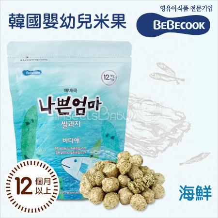 ✿蟲寶寶✿【韓國BeBecook】蘊含天然營養穀物 不含人工香料/色素/人工醣類 - 智慧媽媽 / 海鮮米棒 12M+