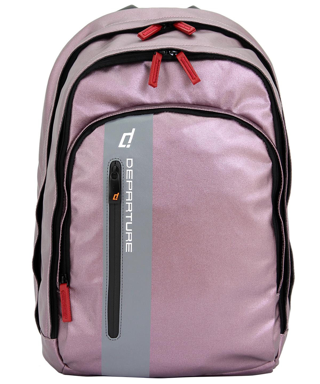 「雙肩後背包」行李箱拉桿 筆電包 防潑水材質×紫色 :: departure 旅行趣/ BP052