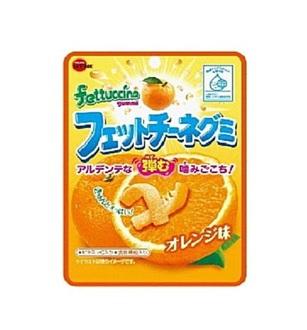 有樂町進口食品 北日本長條軟糖-橘子 50g 4901360319732