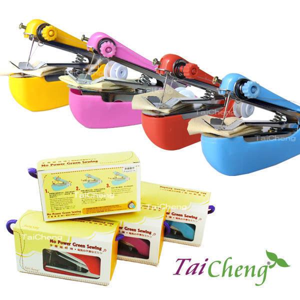 訂書機|日本MAKINOU環保免電手壓縫紉機-大全配|彩色系 便攜實用 牧野丁丁