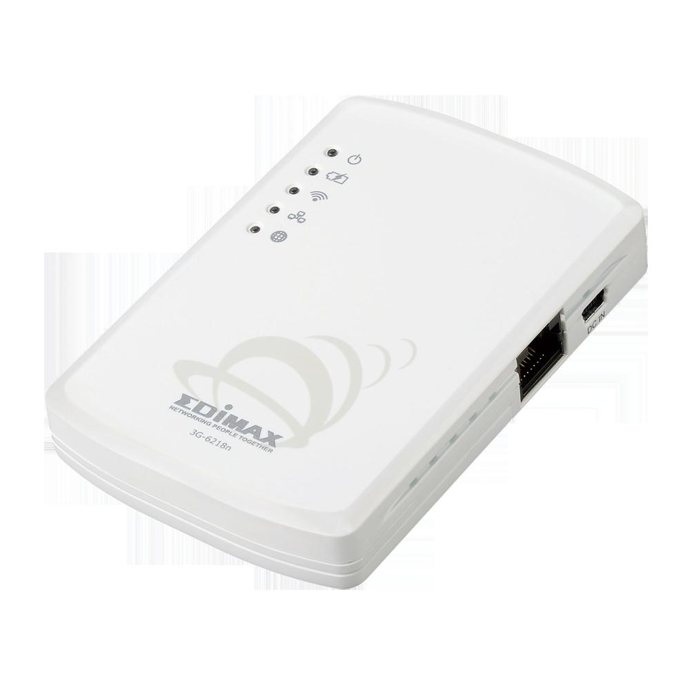 [季末出清] 訊舟 EDIMAX 3G-6218n   攜帶型全功能無線網路寬頻分享器