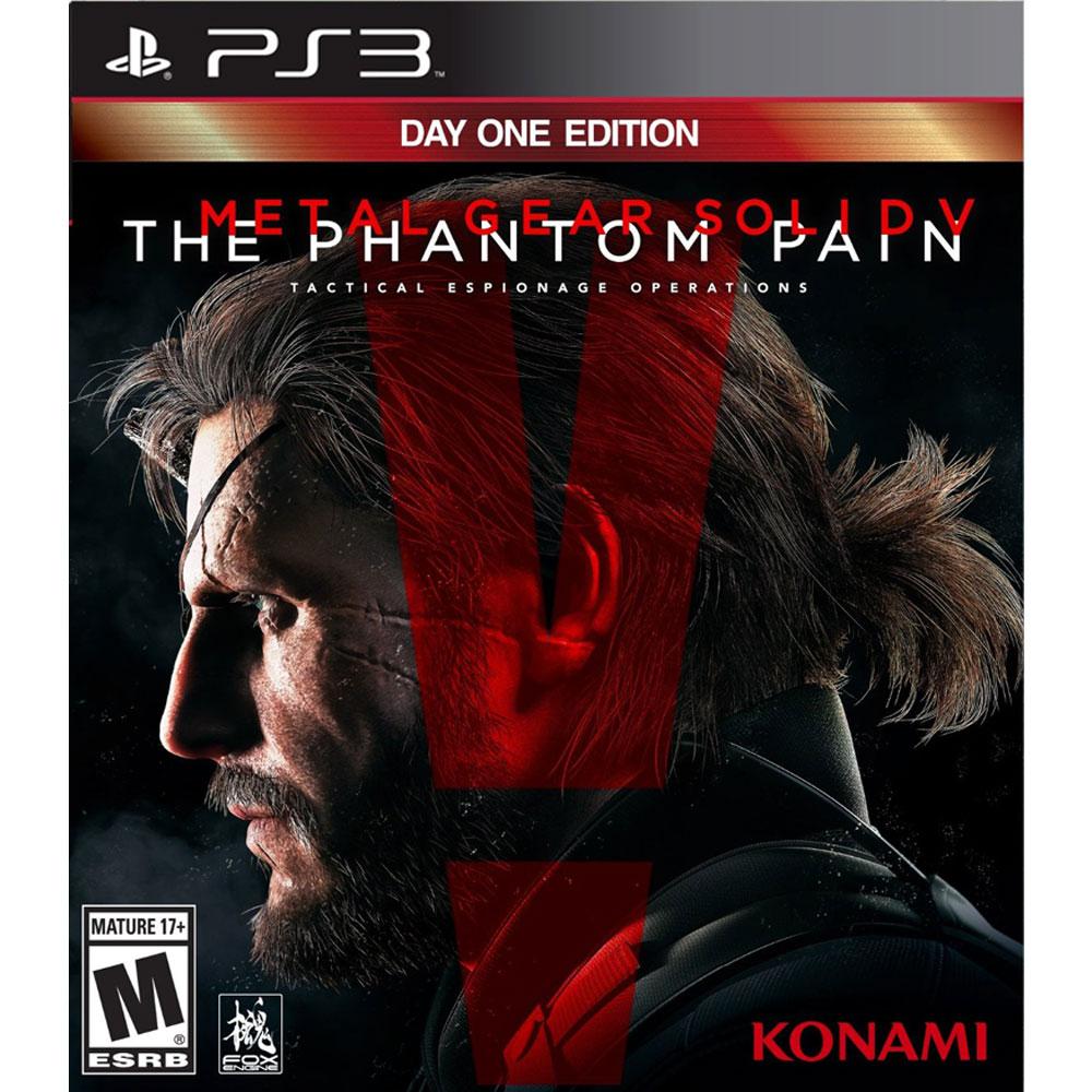 PS3 潛龍諜影 5:幻痛 首日版 英日美版 METAL GEAR SOLID V