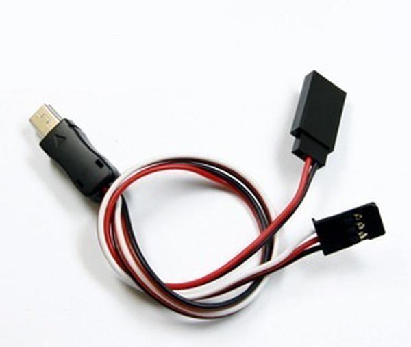 GoPro HERO3 3+ AV線  外接5V供電輸入 視頻線 輸出線USB轉AV 【BGPA76】