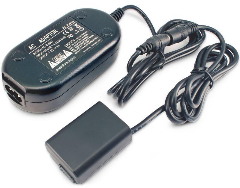 SONY AC-PW20 電源供應器 電源線NP-FW50假電池 【AYZBB3】
