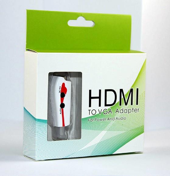 HDMI轉VGA轉換器 1080P HDCP D-Sub 【MICAA8】