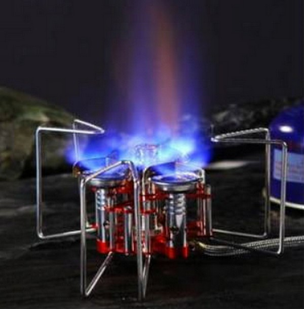 步林 5800W BL100-B6-A 三爐頭攜帶式高山瓦斯爐 豋山爐 蜘蛛爐 高山爐【CAMAA8】