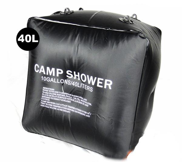 40L 40公升 加厚 太陽能沐浴袋 野外沐浴袋 淋浴袋 洗浴袋