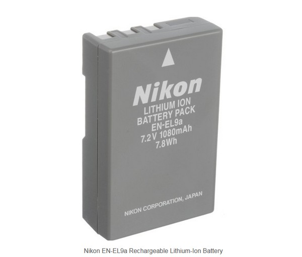 NIKON EN-EL9A 原廠電池 D40 D40X D60 D3000 D5000 適用