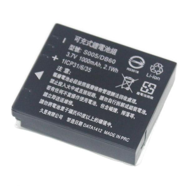 樂達數位 DB-60 DB-65 S005 BCC12 BP-DC4 D-LI106 副廠電池