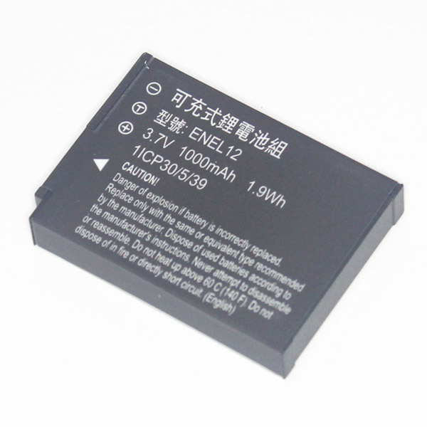 樂達數位 NIKON EN-EL12 副廠電池 S610c S710 S620 S630 S640 S70 S1000