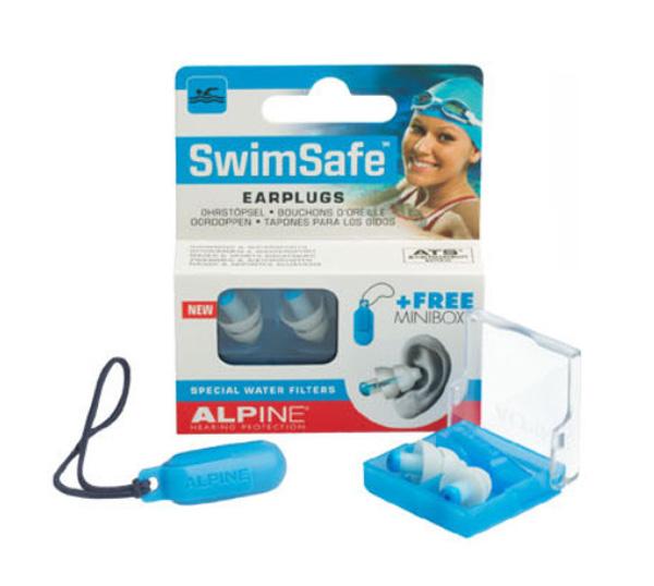 樂達數位 最新款 荷蘭原裝進口 Alpine SwimSafe 頂級游泳防水耳塞 附原廠膠囊盒