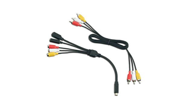 樂達數位 GoPro 原廠 USB轉AV端子外接麥克風線組 HERO 3 3+ 4 ANCBL-301