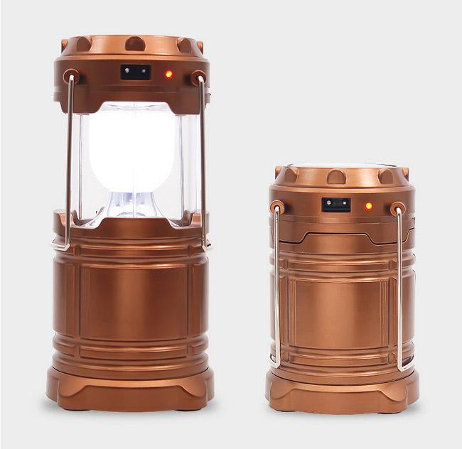 樂達數位 多功能 露營燈 可太陽能/充電器充電 3號電池供電【FLAA63】