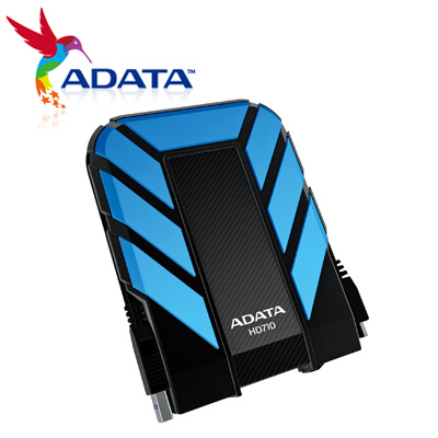 威剛 HD710 2.5吋 外接硬碟 1T 藍 / 個