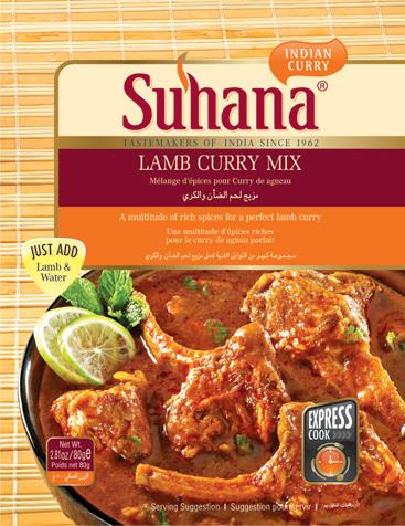 Suhana Lamb Curry Spice Mix 印度混合即食香料醬 (煮洋肉用)