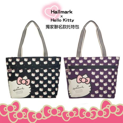 HELLO KITTY × Hallmark聯名托特包-凱蒂甜心