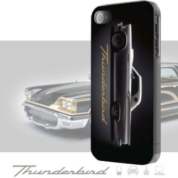 【愛瘋潮】西班牙進口 原廠授權 Ford Thunderbird iPhone SE / 5 / 5S 限量主題保護殼 黑色傳奇