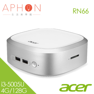 【Aphon生活美學館】ACER Revo Base RN66 i3-5005U雙核 桌上型電腦-送50*80cm超厚感防霉抗菌釋壓記憶地墊