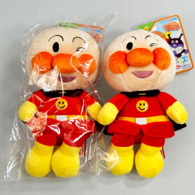日本帶回 麵包超人 絨布玩偶 正版商品