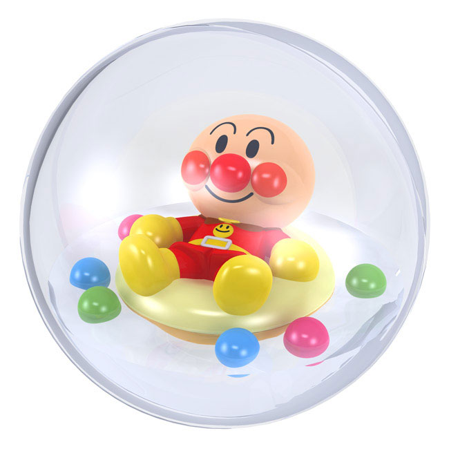 麵包超人 水球玩具 洗澡可一起玩 日本帶回
