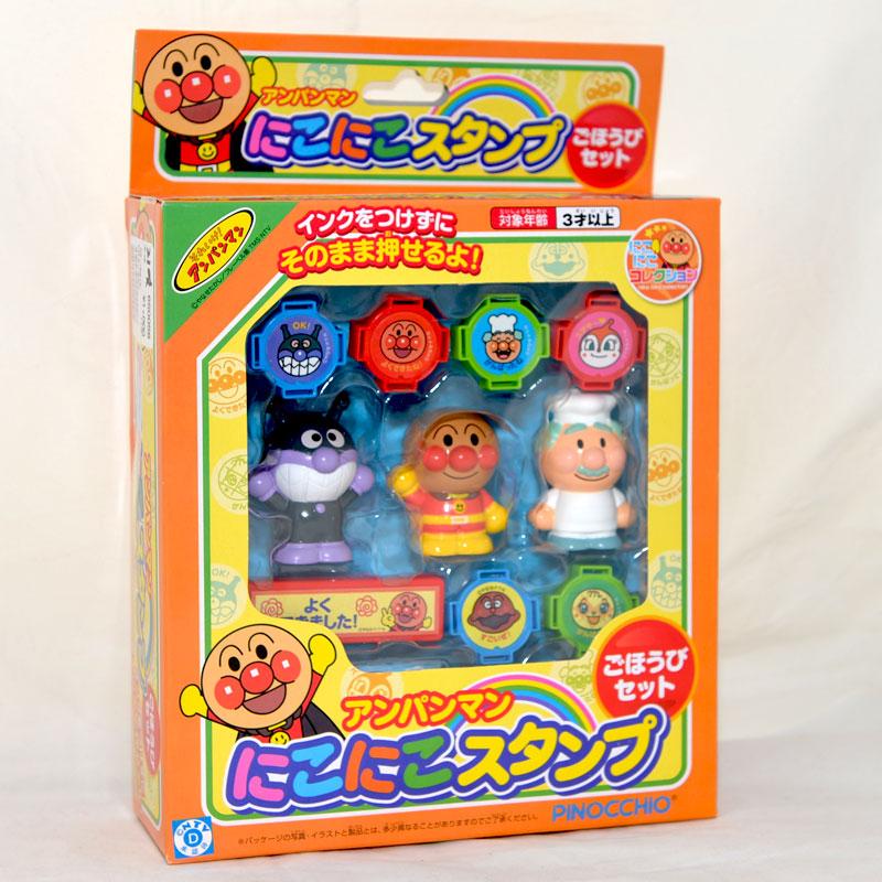 麵包超人 印章 玩偶玩具組 日本帶回正版商品 3歲以上