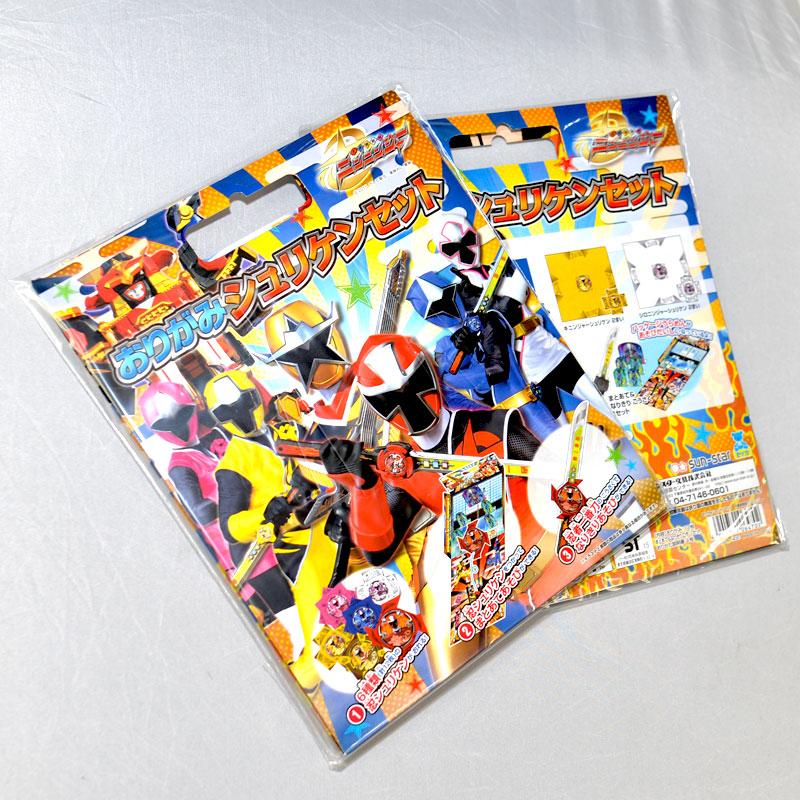 手裡劍戰隊 忍忍者 摺紙遊戲 忍者一番刀戰場 日本製正版品