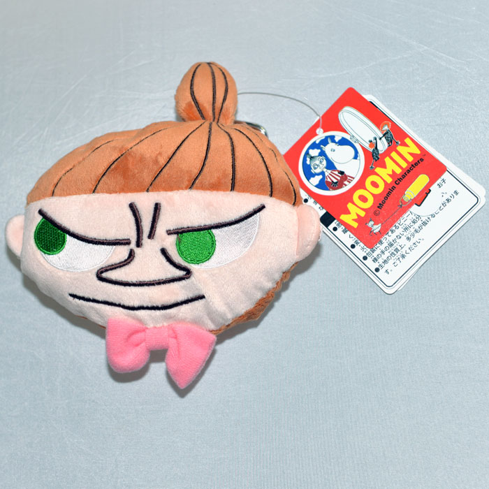 MOOMIN 嚕嚕米 小不點亞美 吊飾 證件包 卡包 附可拉吊繩 日本正版商品