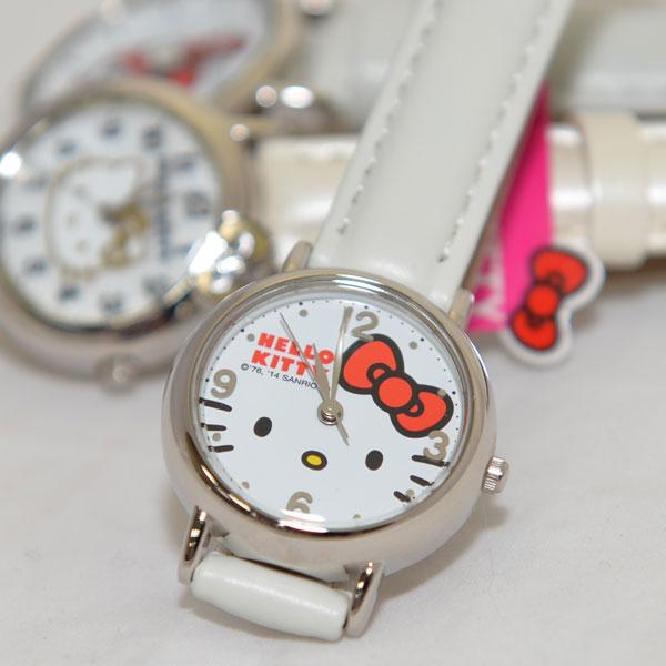 Hello Kitty Citizen 星辰石英錶 日本帶回 白色