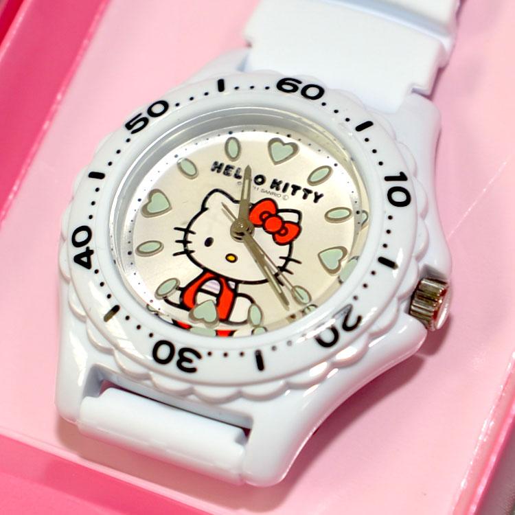 Hello Kitty 氣壓防水指針式手錶 CITIZEN 星辰錶 日本限定 附精美禮盒