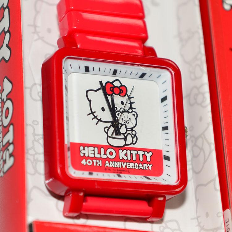 40週年紀念款 Hello Kitty 造型手錶 日本限定 值得收藏