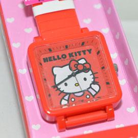 Hello Kitty 貓頭 造型手錶 日本限定 日本帶回正版品