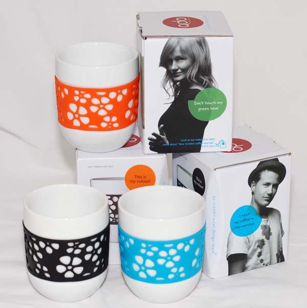 QDO 雙層 隔熱 白瓷 馬克杯 咖啡杯 茶杯 個人杯