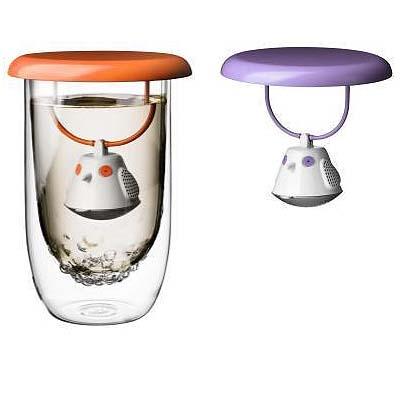 QDO 小鳥 造型 茶包 茶袋 附隔熱蓋
