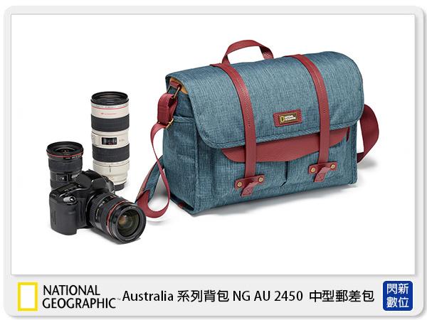 【分期0利率,免運費】NationalGeographic 國家地理 澳大利亞系列 NG AU 2450 中型 郵差包 相機包 (NGAU2450,公司貨)