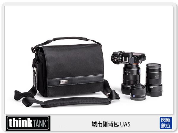 【分期0利率,優惠券折扣】 thinkTank 創意坦克 城市側背包 UA5 斜背包 相機包 UA842 (彩宣公司貨)