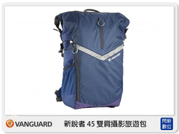 【分期0利率,免運費】VANGUARD Reno 新銳者 45 雙肩攝影旅遊包 (附防雨罩,公司貨)