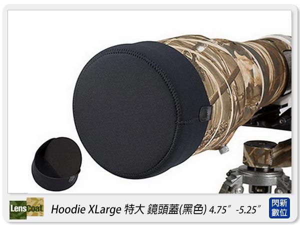 【分期0利率,免運費】美國 Lenscoat Hoodie Xlarge XL 特大 黑色 鏡頭蓋