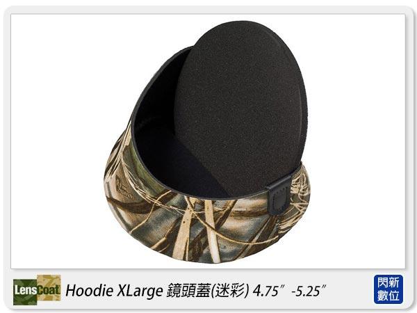 【分期0利率,免運費】美國 Lenscoat Hoodie Xlarge XL 特大 咖啡迷彩 鏡頭蓋