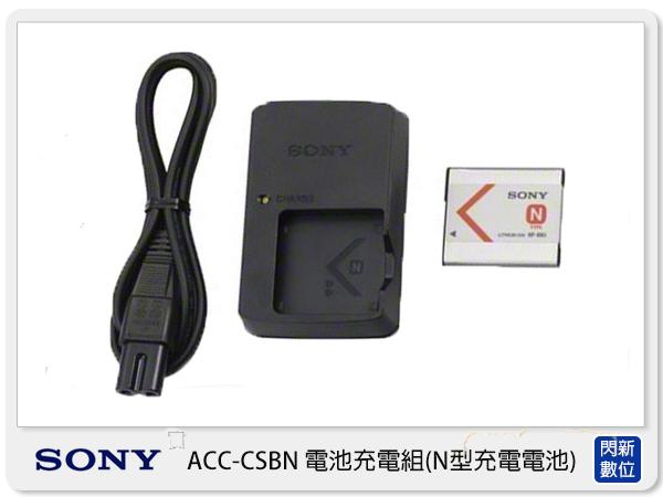 【分期0利率,免運費】SONY ACC-CSBN 原廠充電器組 (含NP-BN1,公司貨) 適用 QX100 QX10