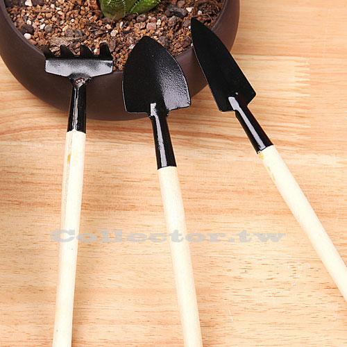 【F16091909】多功能園藝工具3件組 鏟子耙子鐵鍬 盆栽小工具 多肉植物/小型盆栽適用