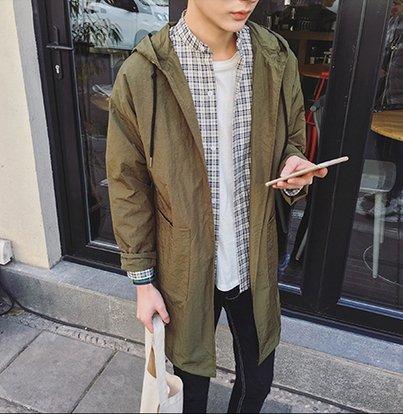 【JP.美日韓】韓國 質感 長版 外搭 高質感 大衣 外套 男