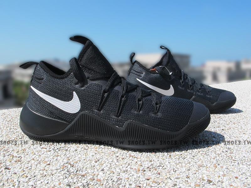 Shoestw【844392-010】NIKE HYPERSHIFT EP 襪套 籃球鞋 哈登 黑色