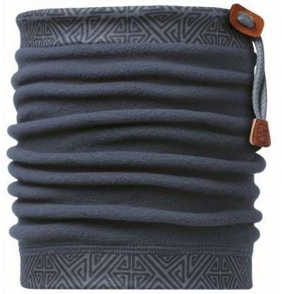 Buff 健行/滑雪/旅遊 頭巾/頸圍/刷毛圍巾/脖圍 抽繩POLAR保暖領巾 107913 三角迴紋針